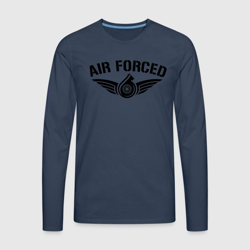 AIR FORCED Long sleeve shirts - Men's Premium Longsleeve Shirt
