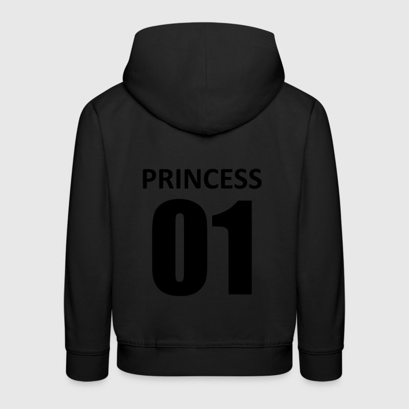 princess 01 Sweats - Pull à capuche Premium Enfant