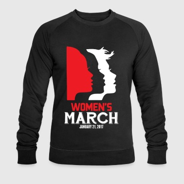 Women's March on Washington 2017 Official T-Shirts - Men's Organic Sweatshirt by Stanley & Stella