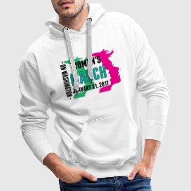 Women's March on Washington 2017  T-Shirts - Men's Premium Hoodie