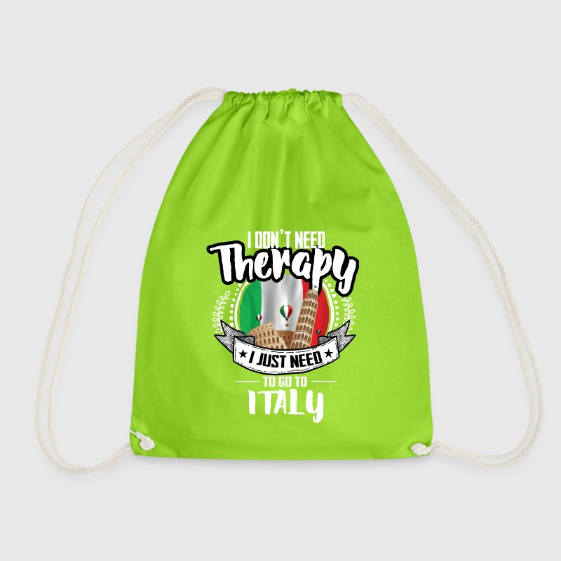 Therapy Italy Bags & Backpacks - Drawstring Bag