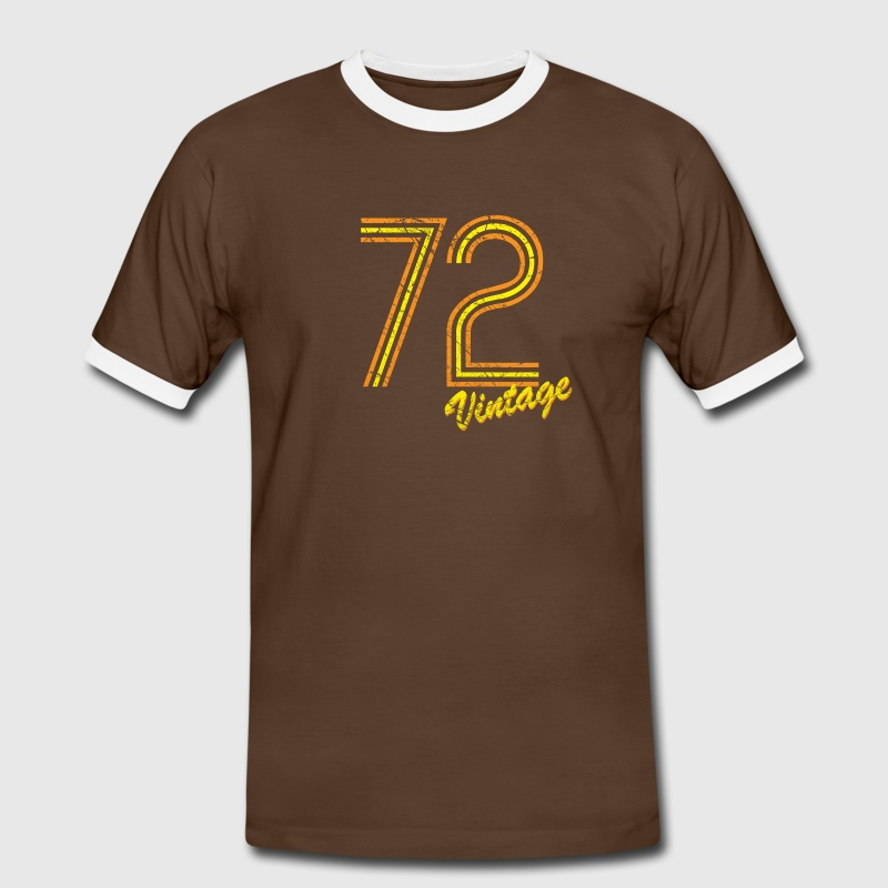 72 vintage T-Shirts - Men's Ringer Shirt