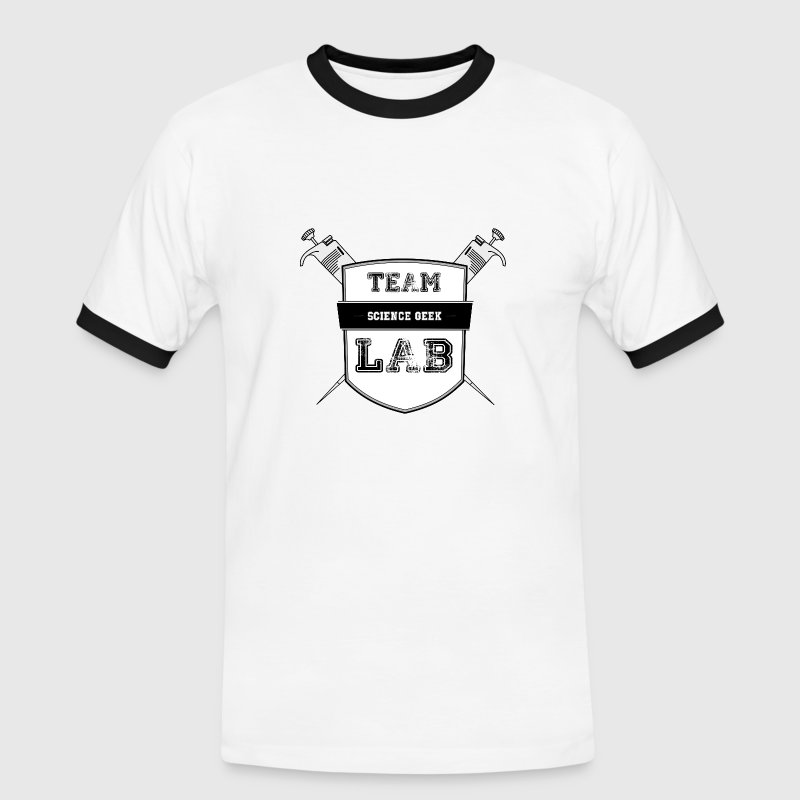 Team Lab T-Shirts - Männer Kontrast-T-Shirt