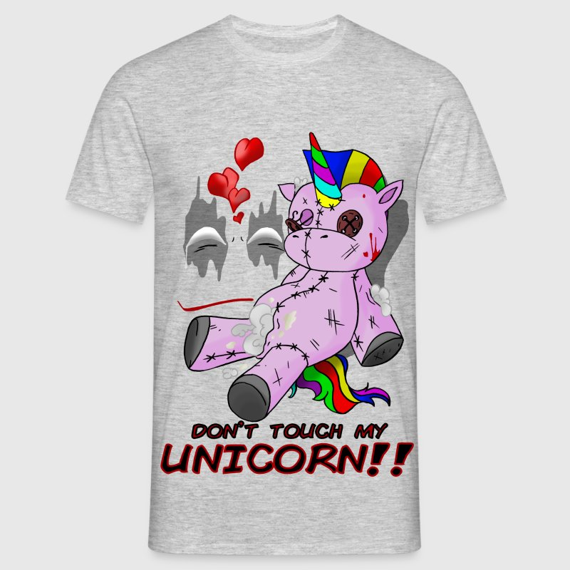 don't touch my unicorn!! - T-shirt Homme