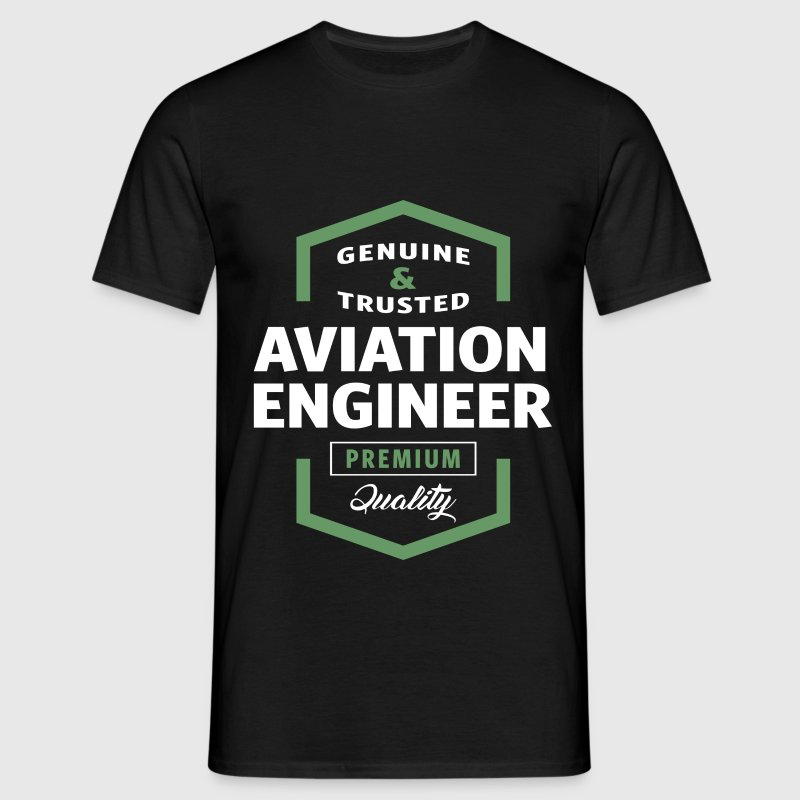 Aviation Engineer Logo T-shirt - Men's T-Shirt