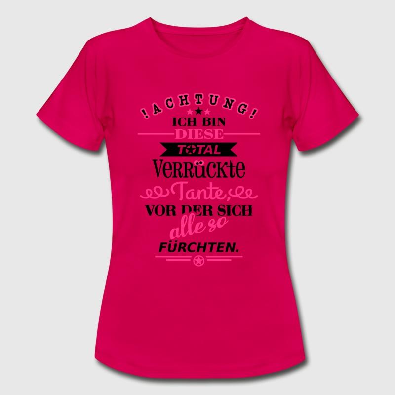 total verr ckte tante t shirt spreadshirt. Black Bedroom Furniture Sets. Home Design Ideas