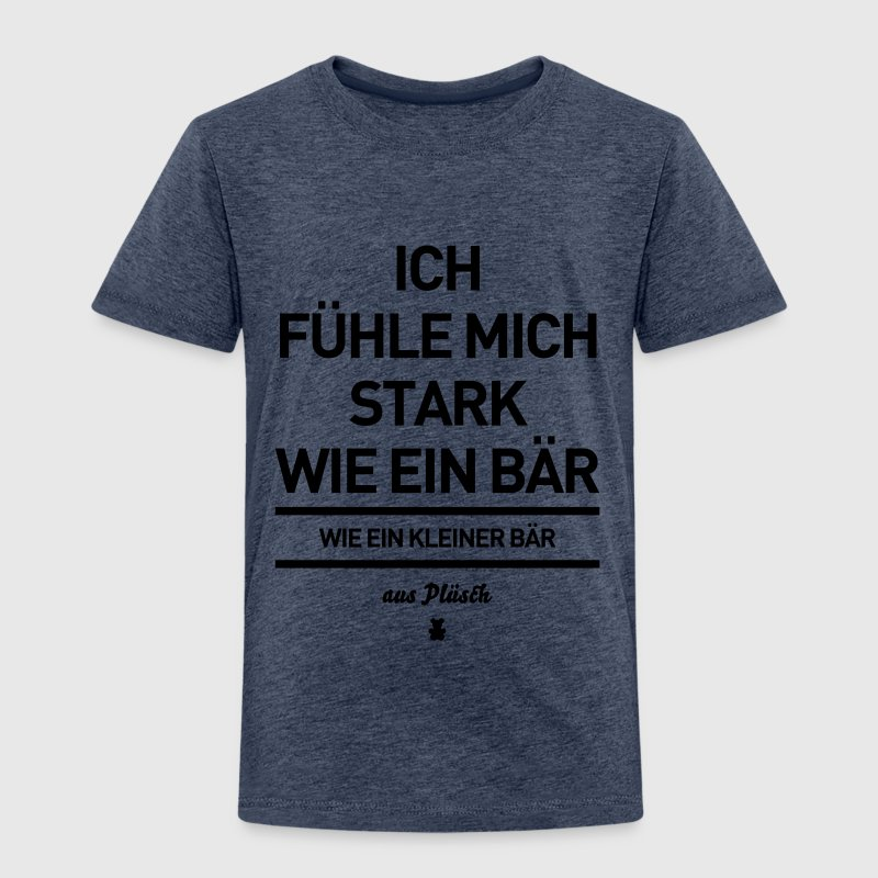 stark wie ein b r baer aus pl sch spruch spr che t shirt. Black Bedroom Furniture Sets. Home Design Ideas