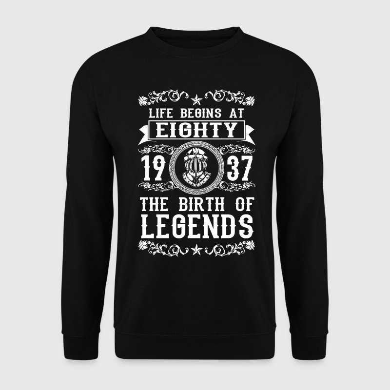 1937 - 80 years - Legends - 2017 Sweat-shirts - Sweat-shirt Homme