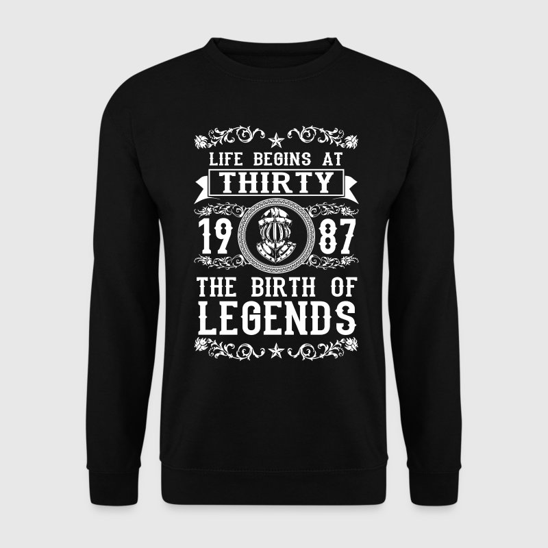 1987 - 30 years - Legends - 2017 Hoodies & Sweatshirts - Men's Sweatshirt
