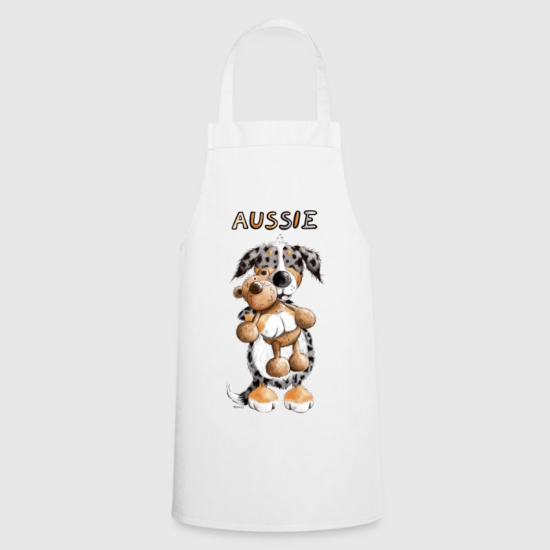 Aussie with Teddy  Aprons - Cooking Apron