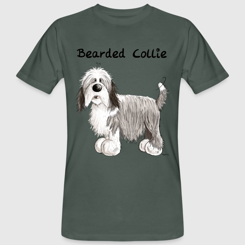 Lustiger Bearded Collie T-Shirts - Männer Bio-T-Shirt