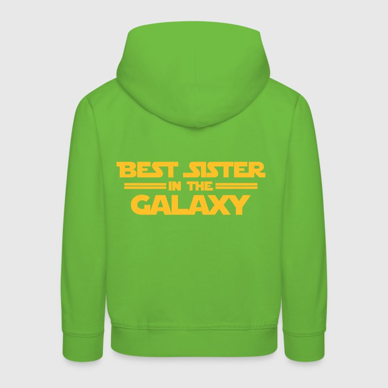 Best Sister in the Galaxy Pullover & Hoodies - Kinder Premium Hoodie