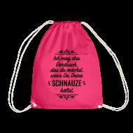 Schnauze Spruch Sprüche Provokation Statement Taschen U0026 Rucksäcke    Turnbeutel