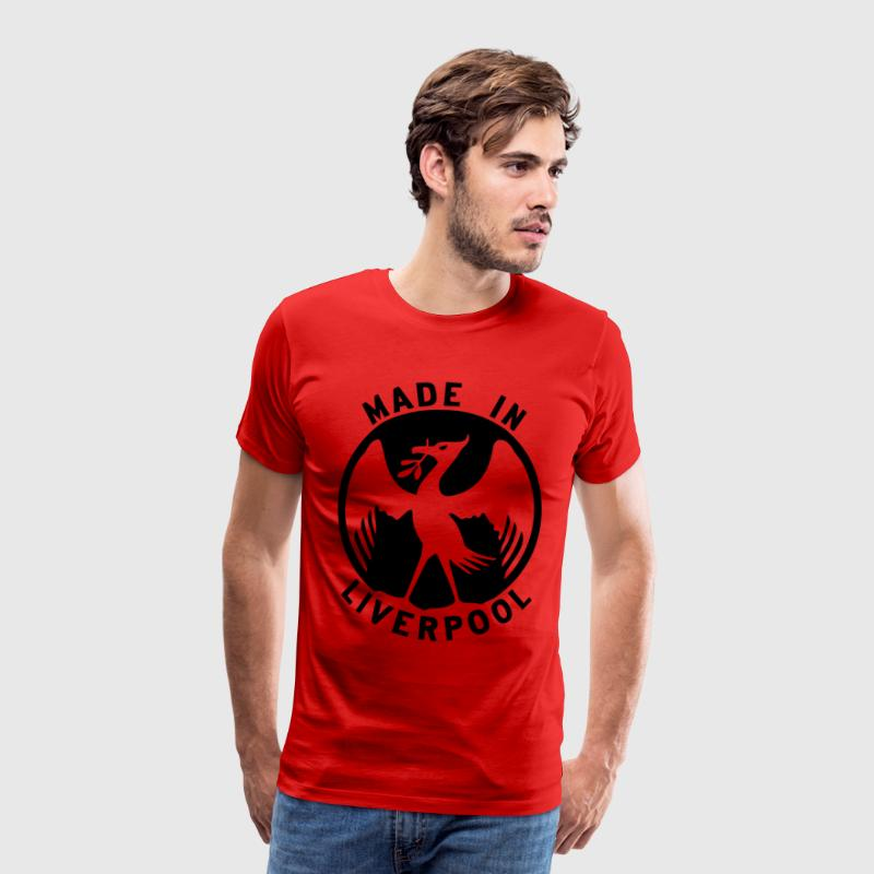 Made in Liverpool Design T-Shirts - Men's Premium T-Shirt