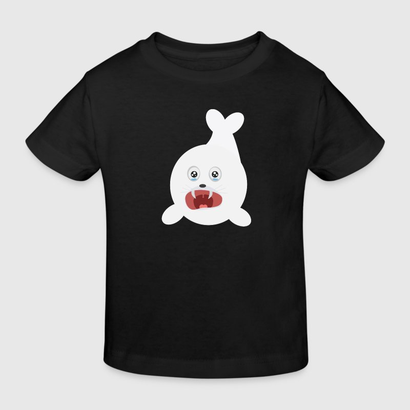 Lake seal is crying Shirts - Kids' Organic T-shirt