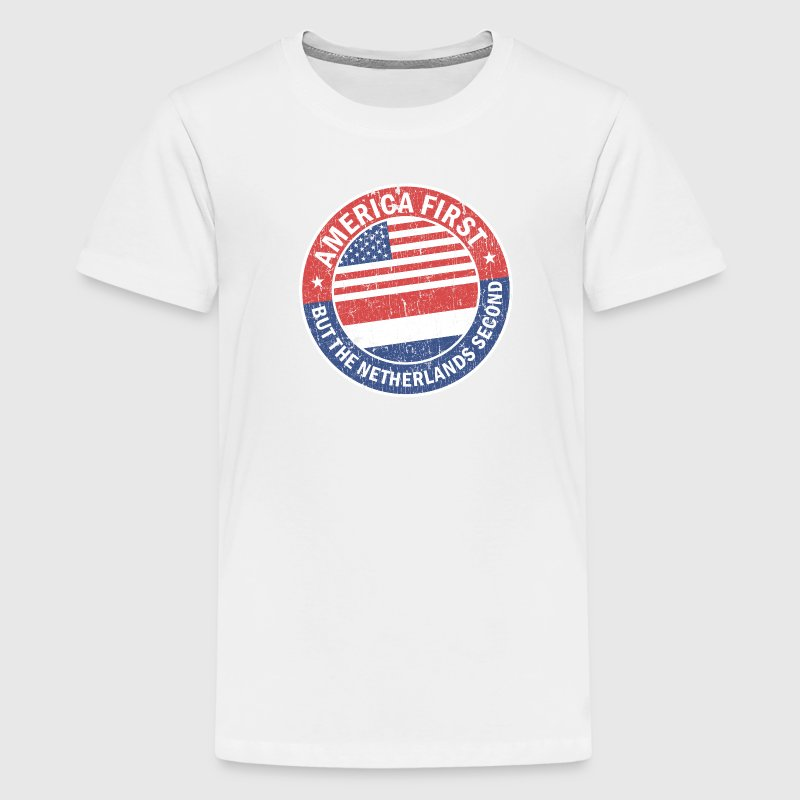 AMERICA FIRST Shirts - Teenager Premium T-shirt