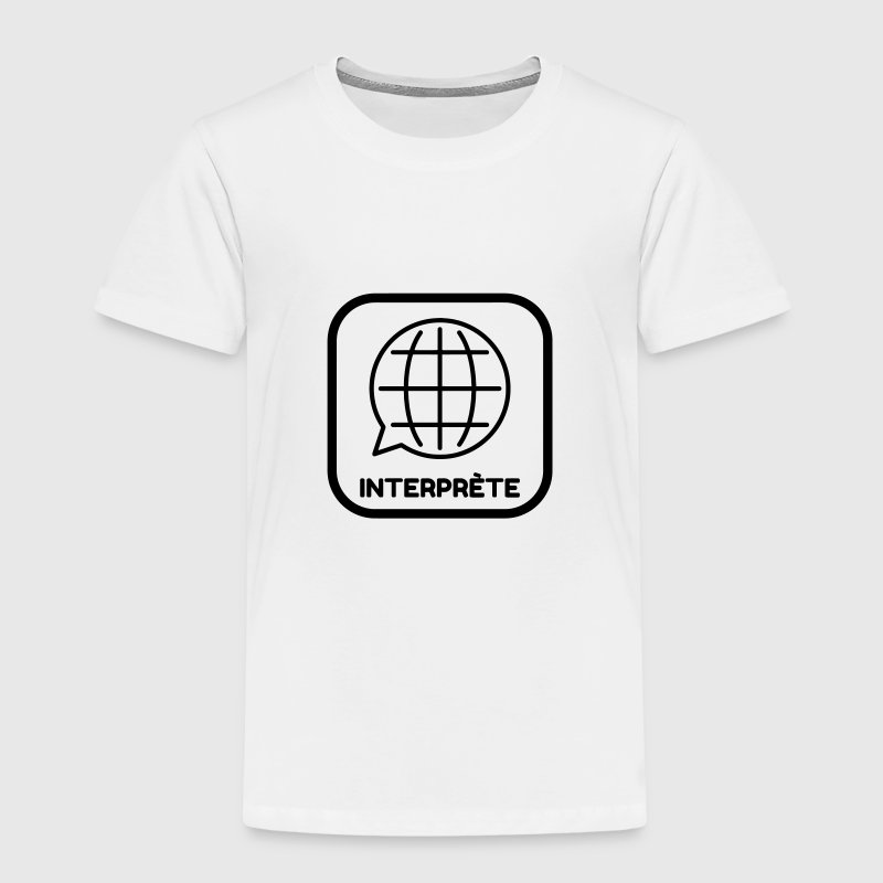 interprète / traducteur / traduction / Métier / Job Tee shirts - T-shirt Premium Enfant