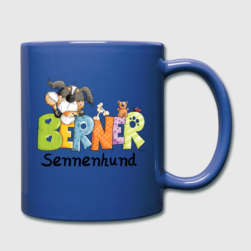 Cute Bernese Mountain Dog Mugs & Drinkware - Full Colour Mug