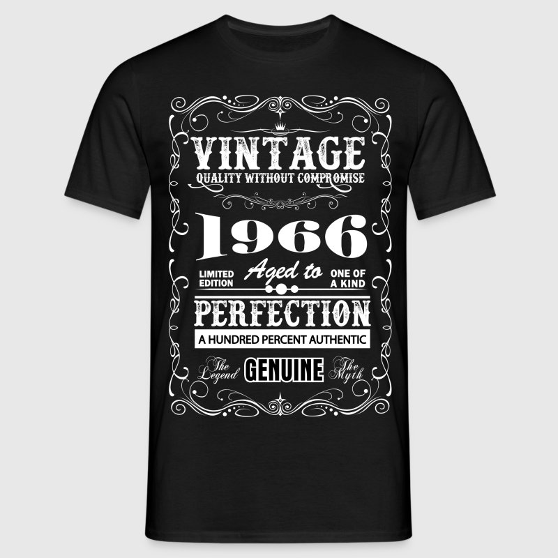 Premium Vintage 1966 Aged To Perfection T-Shirts - Men's T-Shirt