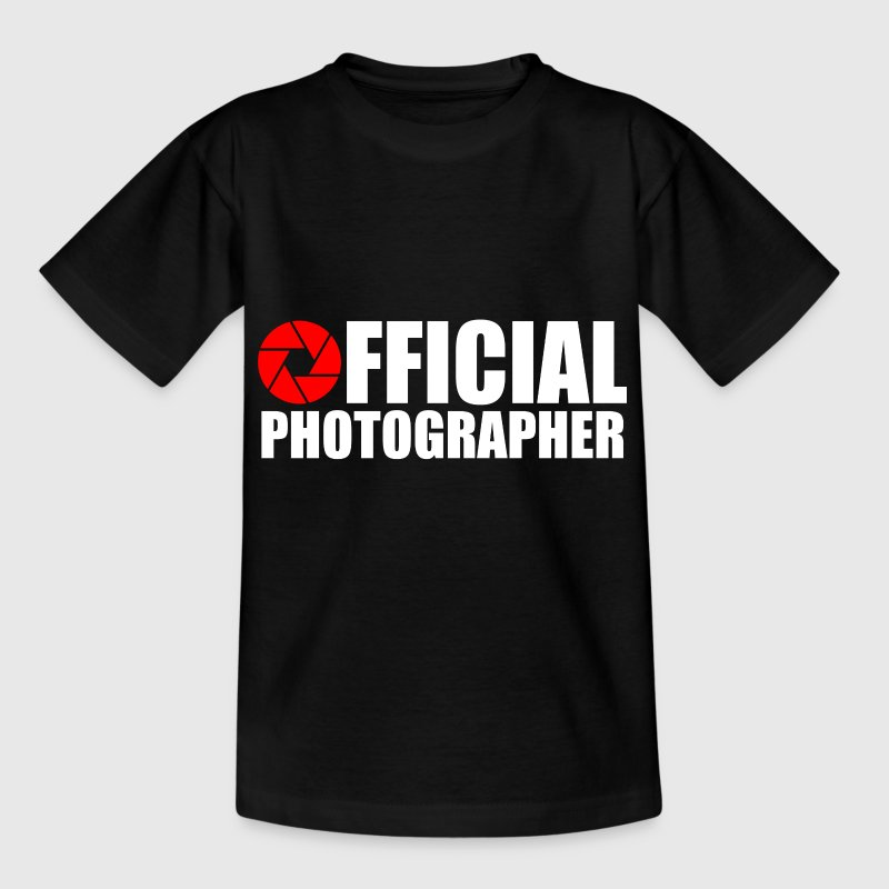 Official photographer Shirts - Teenage T-shirt