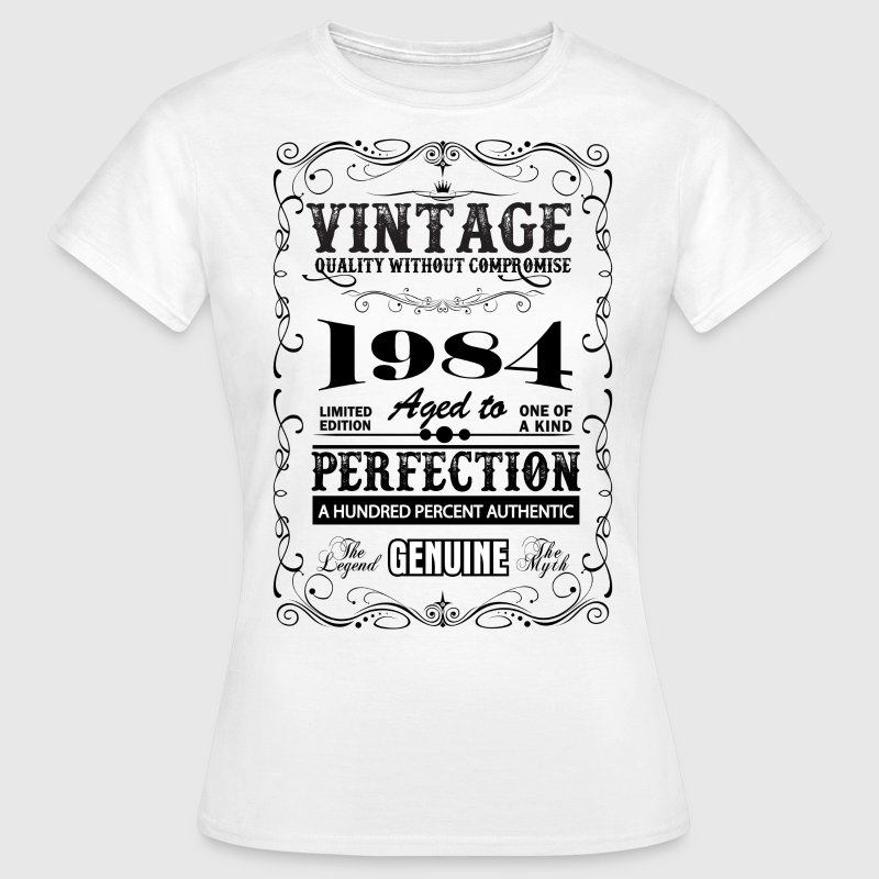 Premium Vintage 1984 Aged To Perfection T-Shirts - Women's T-Shirt