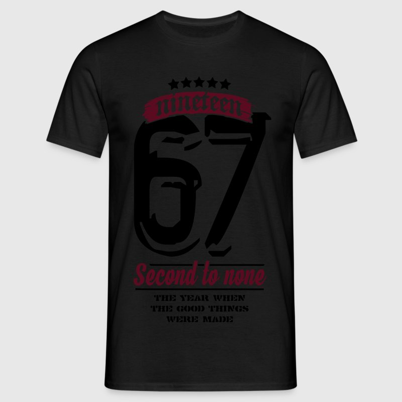 1967 - Second to None T-Shirts - Men's T-Shirt