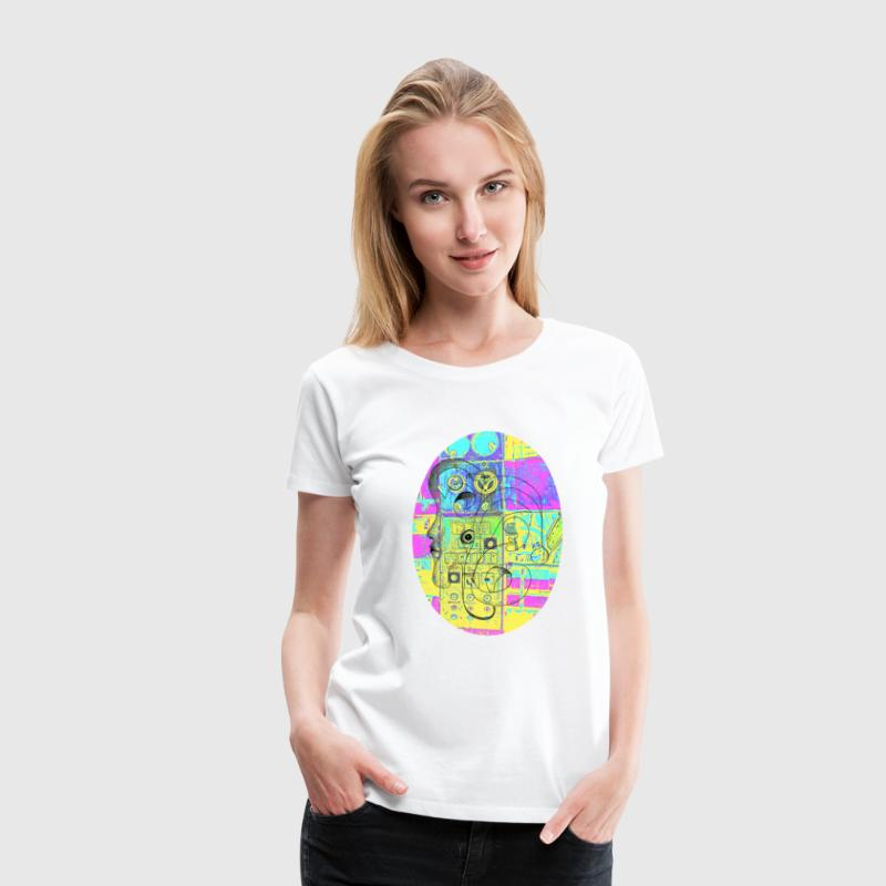 Dream Machine T-Shirts - Frauen Premium T-Shirt