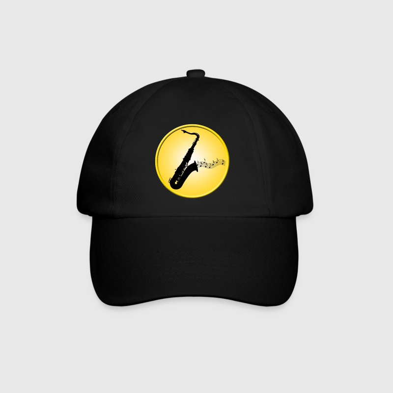 Saxophone / Jazz / Music Caps & Hats - Baseball Cap