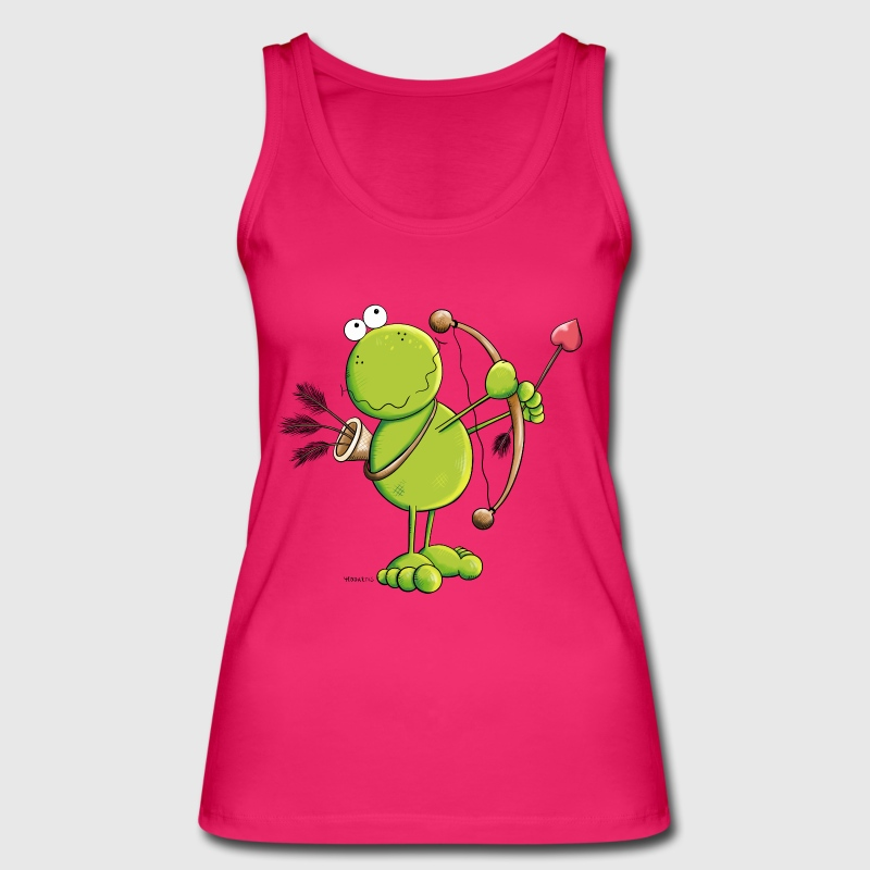 Cupid Frog Tops - Women's Organic Tank Top by Stanley & Stella