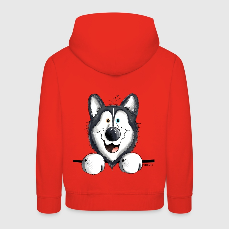 Happy Husky Sweats - Pull à capuche Premium Enfant