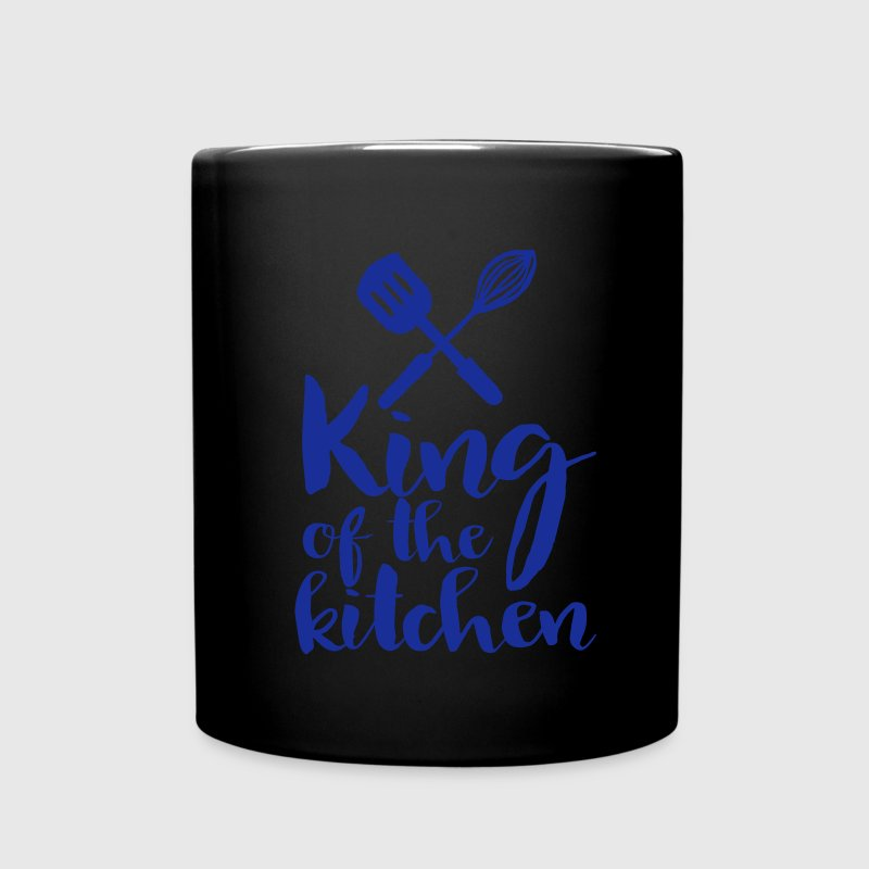 king of the kitchen Mugs & Drinkware - Full Colour Mug