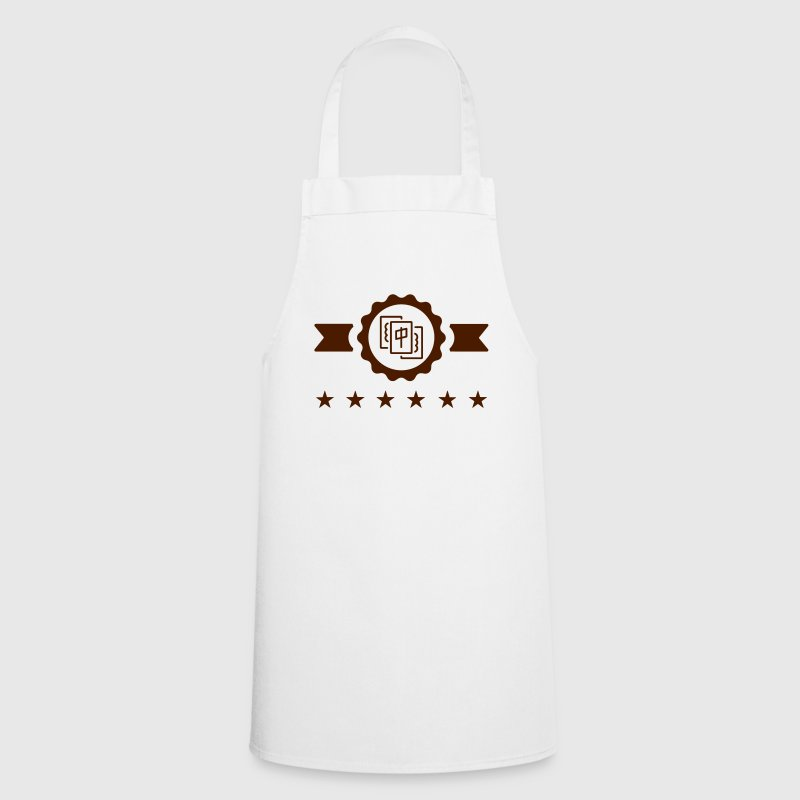 Mah-Jongg Mah-jong Mahjong Mah jong Mah Jongg  Aprons - Cooking Apron