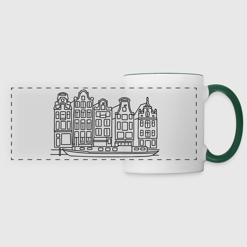 Canaux d'Amsterdam Bouteilles et Tasses - Tasse panorama