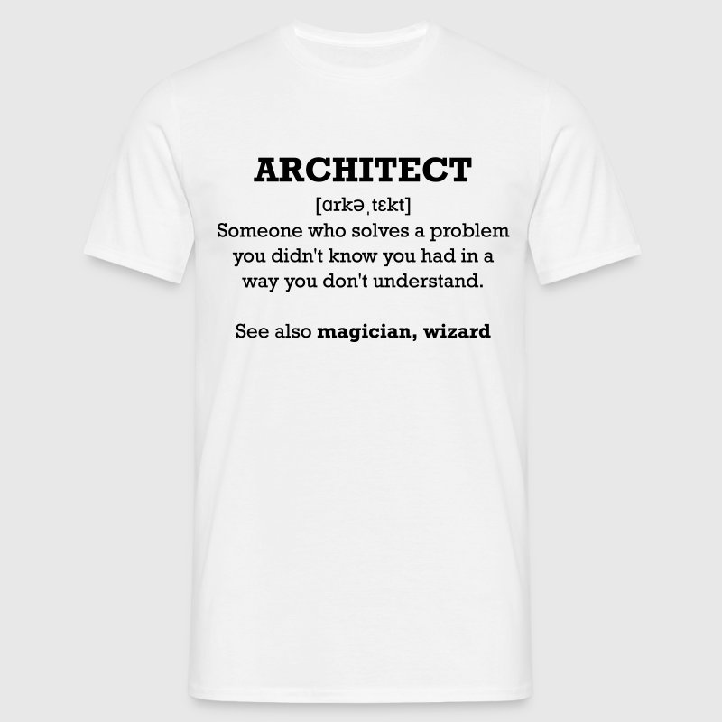 Architect - wizard Tee shirts - T-shirt Homme
