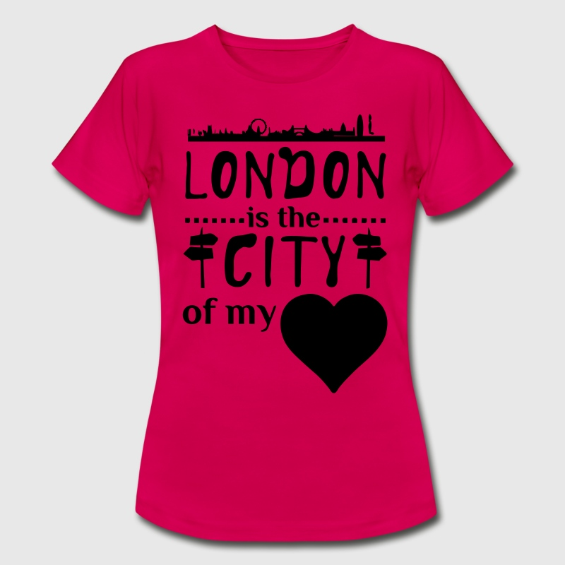 London - City of my Heart  T-Shirts - Women's T-Shirt
