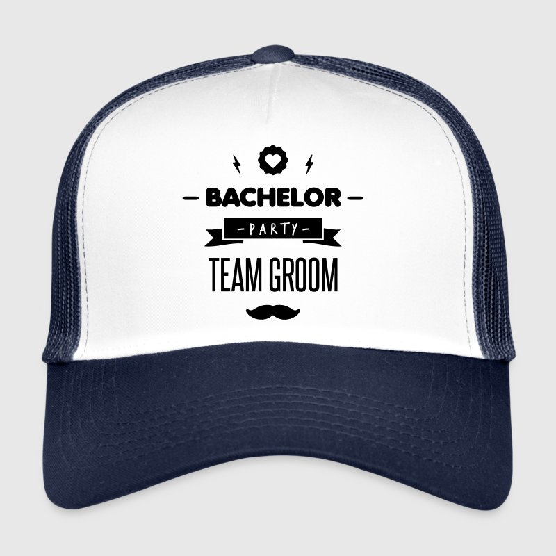 Team GROOM Caps & Hats - Trucker Cap