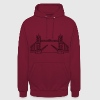 Londres Tower Bridge Sweat-shirts - Sweat-shirt à capuche unisexe