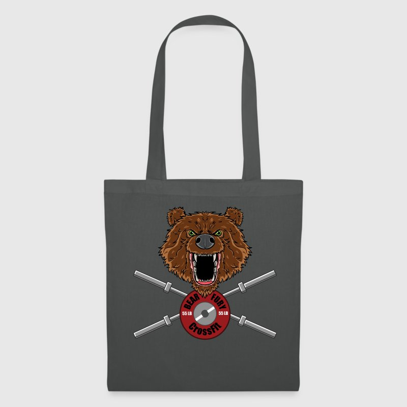 Bear Fury Crossfit Bags & Backpacks - Tote Bag