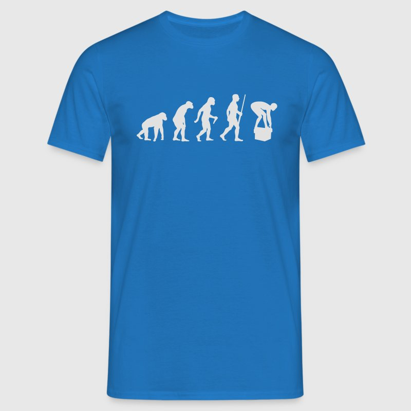 Swimming Evolution - Männer T-Shirt