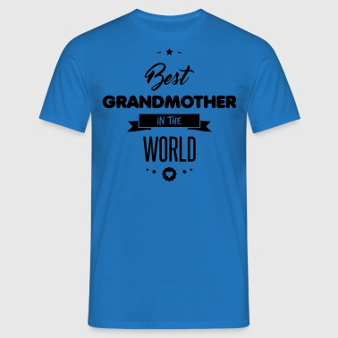 BEST GRANDMOTHER  Aprons - Men's T-Shirt
