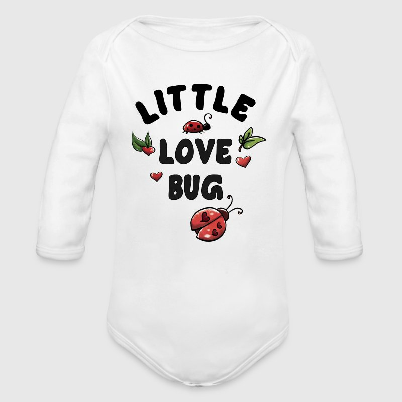 Little Love Bug Baby Bodys - Baby Bio-Langarm-Body