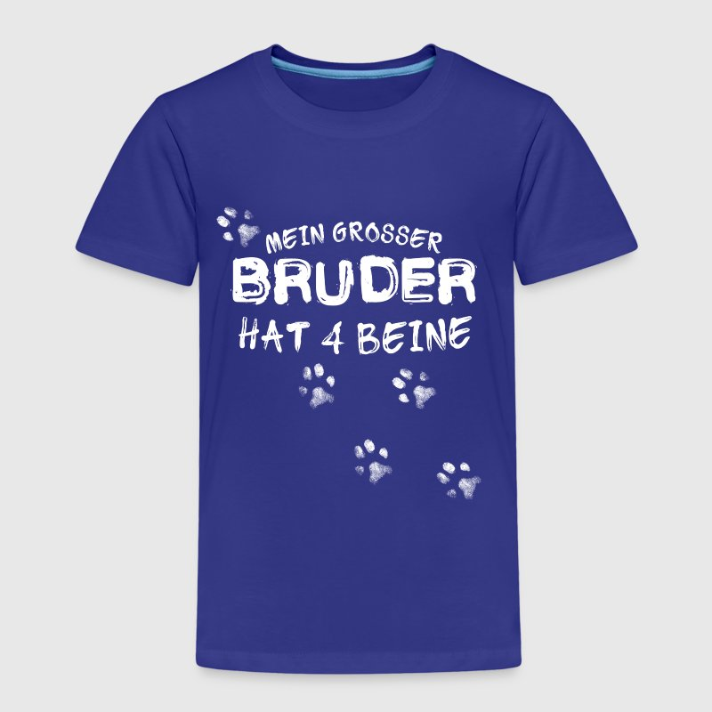 Bruder hat 4 Beine - Kinder Premium T-Shirt
