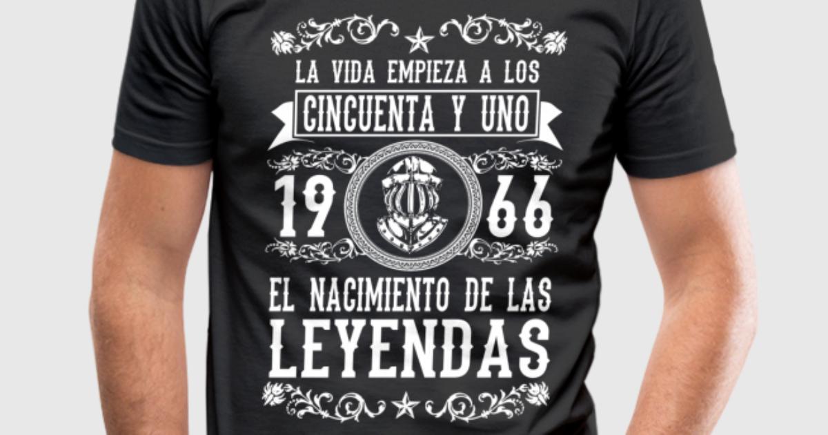 1966 51 a os leyendas 2017 t shirt spreadshirt for Two color shirt design