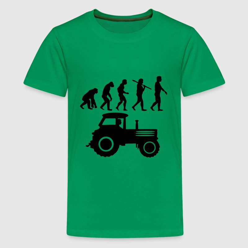 Traktor Evolution T-Shirts - Teenager Premium T-Shirt
