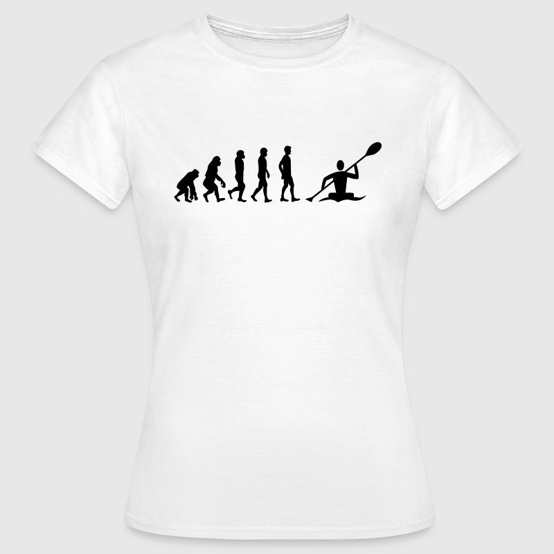 Kanu Evolution - Frauen T-Shirt