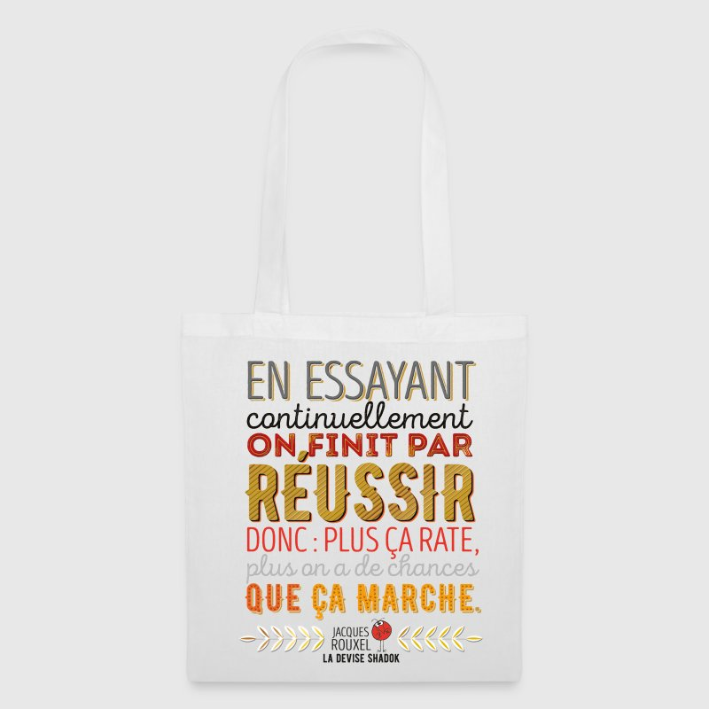 Sac La Devise Shadok n°1 - Tote Bag