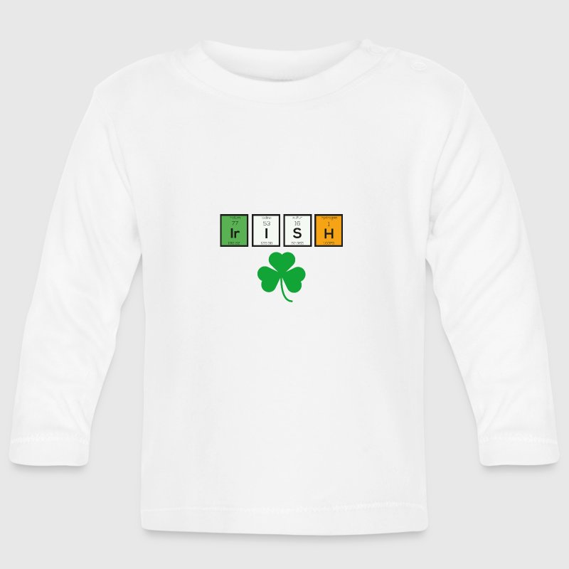 Irish chemical elements Sc71n Baby Long Sleeve Shirts - Baby Long Sleeve T-Shirt