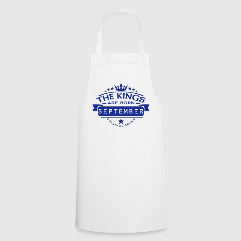 september kings born birth month crown   Aprons - Cooking Apron