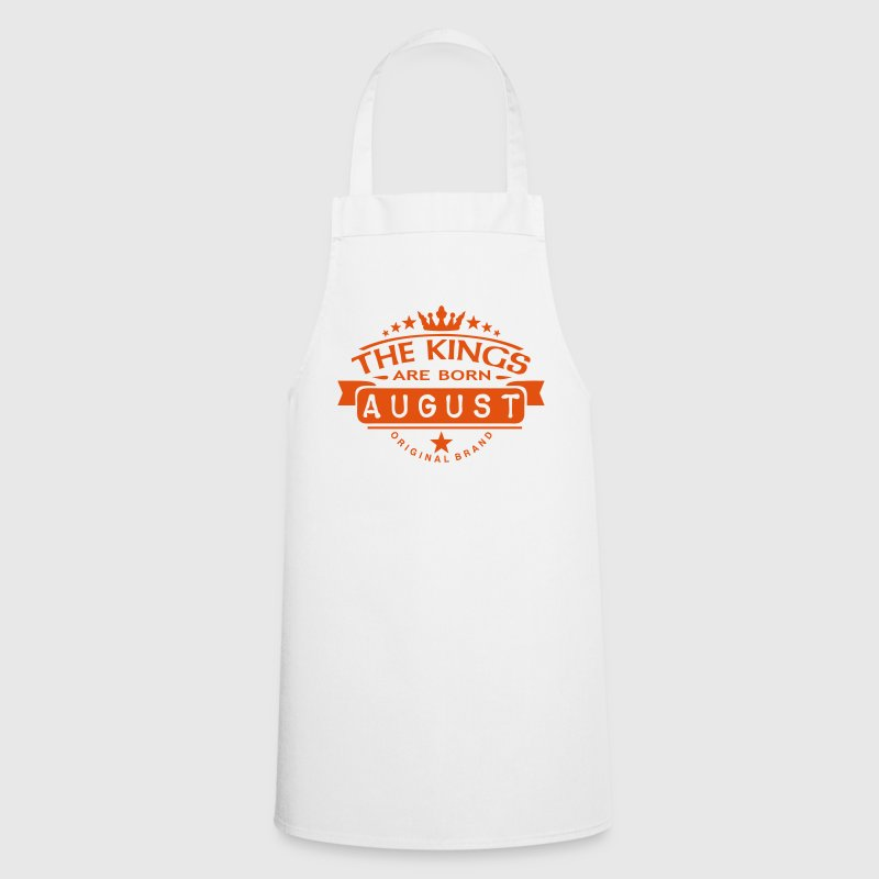 august kings born birth month crown logo  Aprons - Cooking Apron