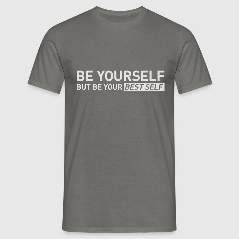 YOUR BEST SELF – Gym traing t-shirt - Men's T-Shirt